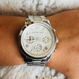 Michael Kors watch silver
